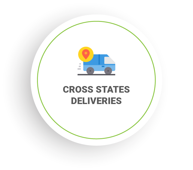 Cross State Deliveries