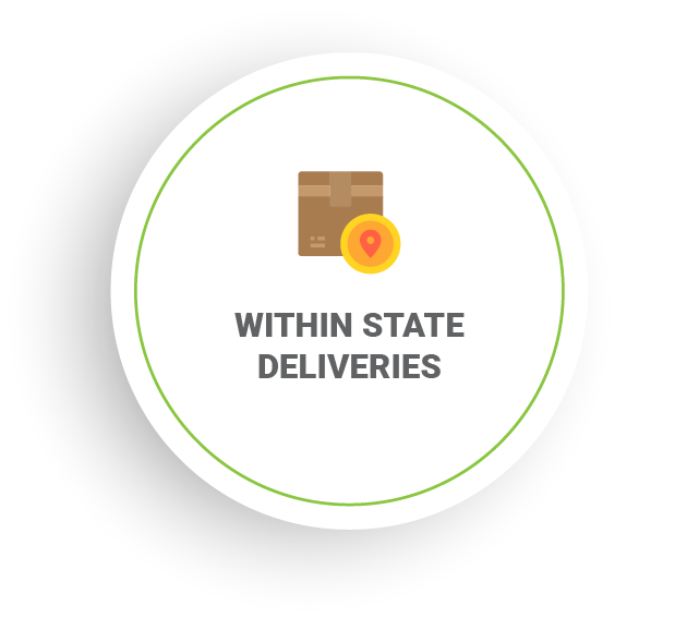 Within State Deliveries